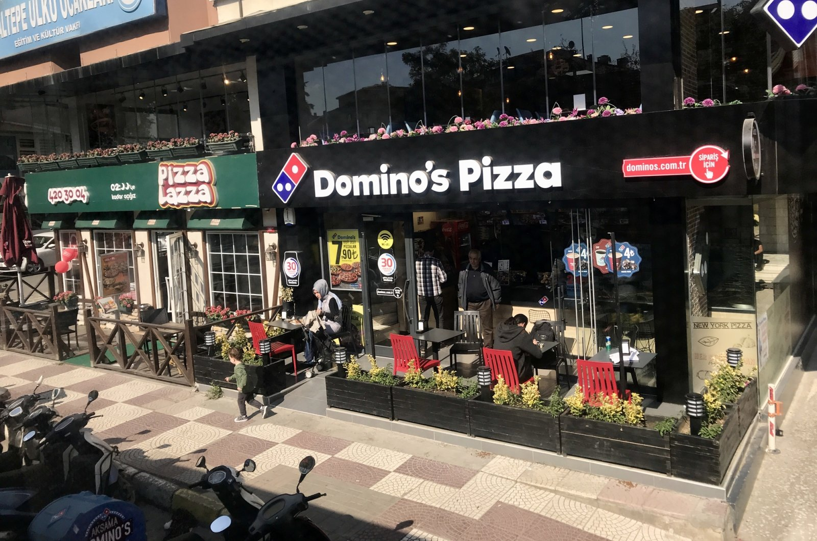 A Domino's Pizza branch, run by DP Eurasia, is seen in the Maltepe district of Istanbul, Turkey, Oct. 11, 2017. (iStock Photo)