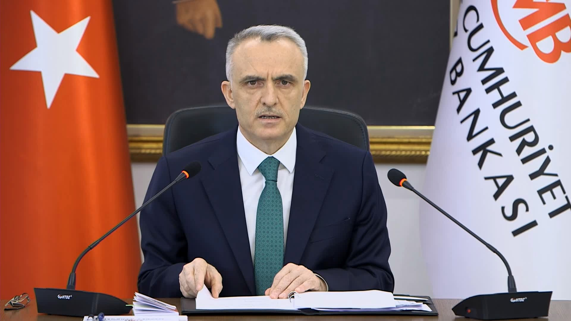 Turkish central bank ready to keep tight policy until inflation falls thumbnail