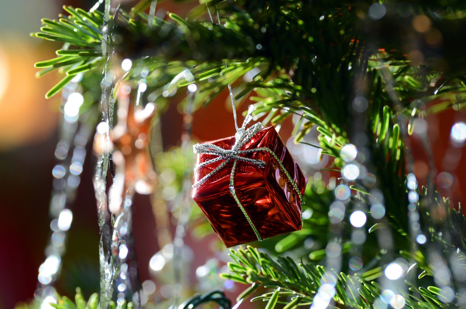 Those tiny strips of tinsel that get left behind mean the tree can't decompose naturally. (DPA Photo)