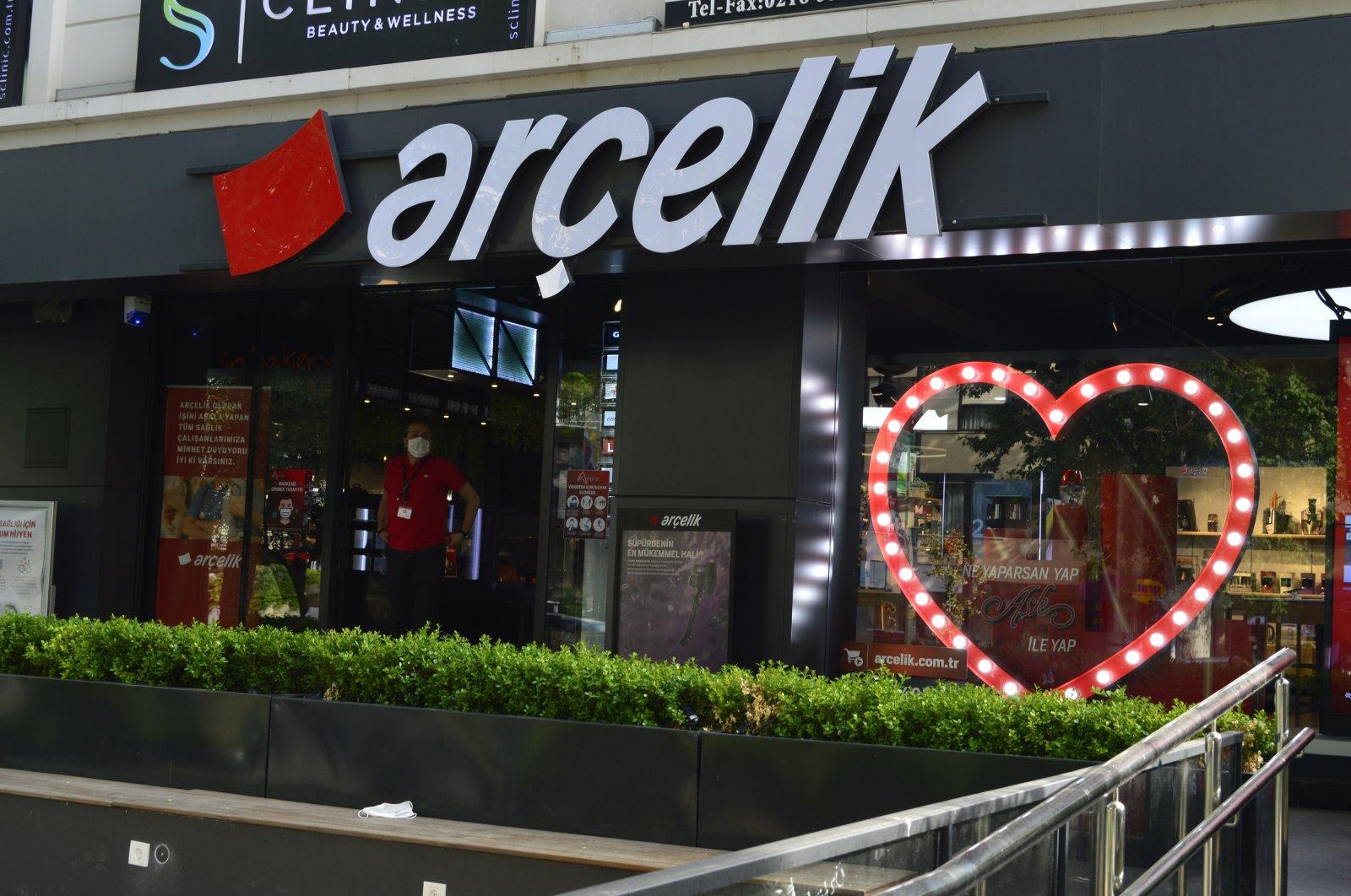 AnArçelik home appliances showroom in Istanbul, Turkey. (Shutterstock Photo)