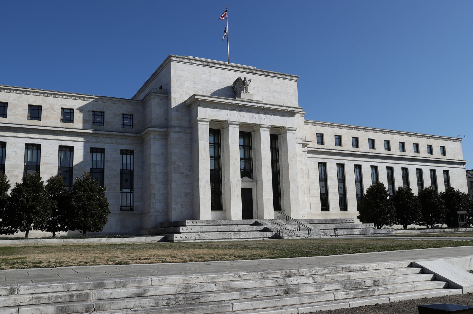 Federal Reserve Board building on Constitution Avenue is pictured in Washington, U.S., March 19, 2019. (Reuters Photo)