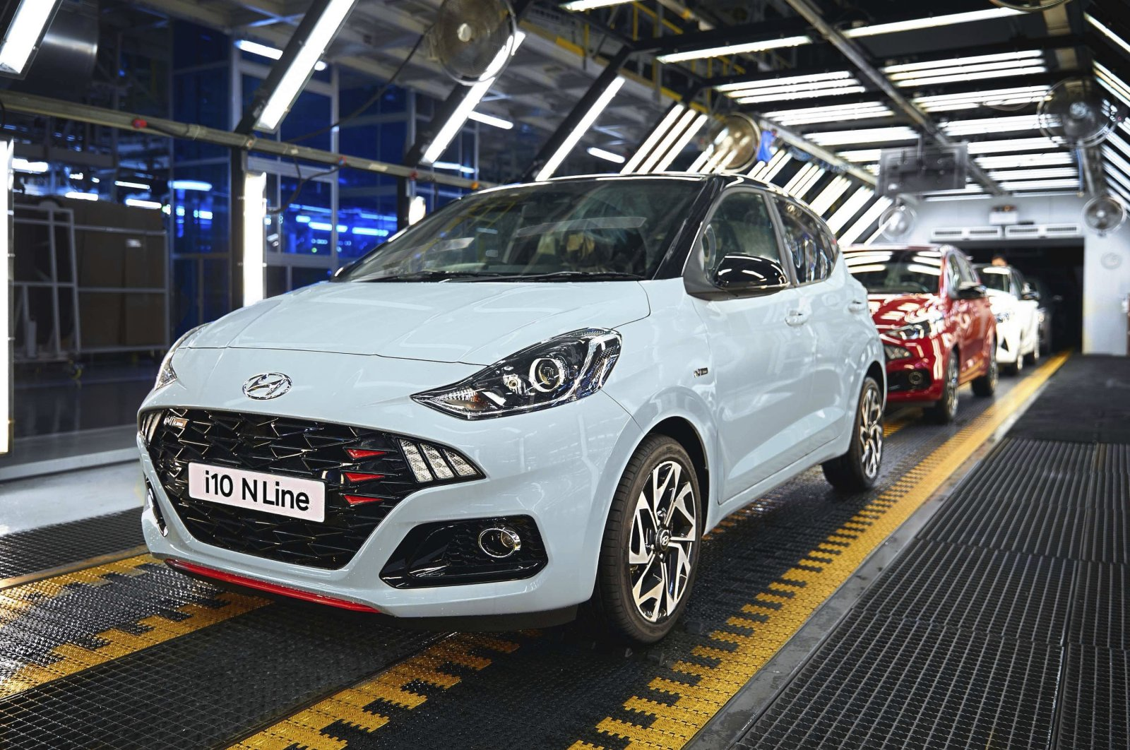 Hyundai Assan car factory, İzmit, northwestern Turkey, June 30, 2020. (Sabah File Photo)