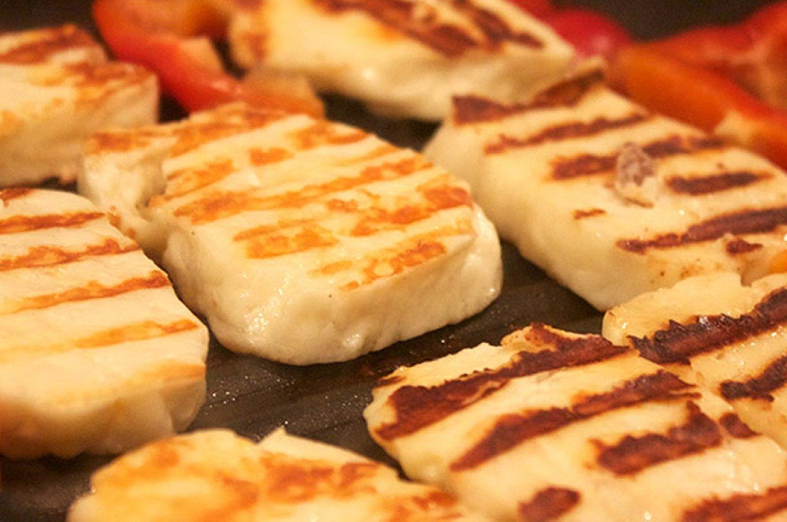 Cyprus' Hellim cheese (Sabah File Photo)