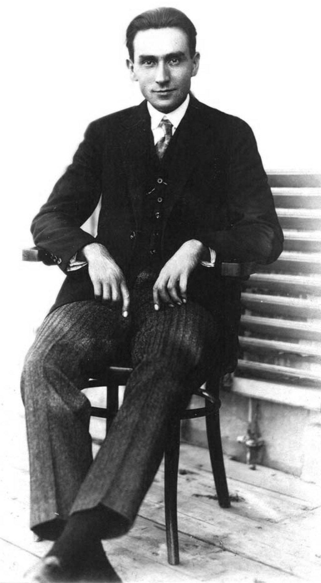 Ahmet Hamdi Başar photographed in the 1920s.