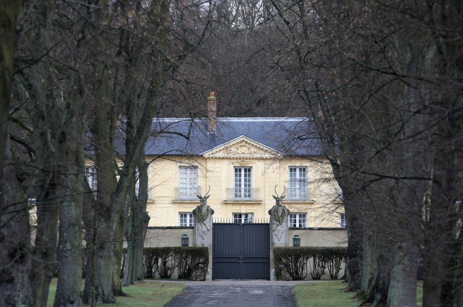 In this file photo, the official residence La Lanterne, is pictured in Versailles, west of Paris on Jan. 19, 2014. (AP Photo)