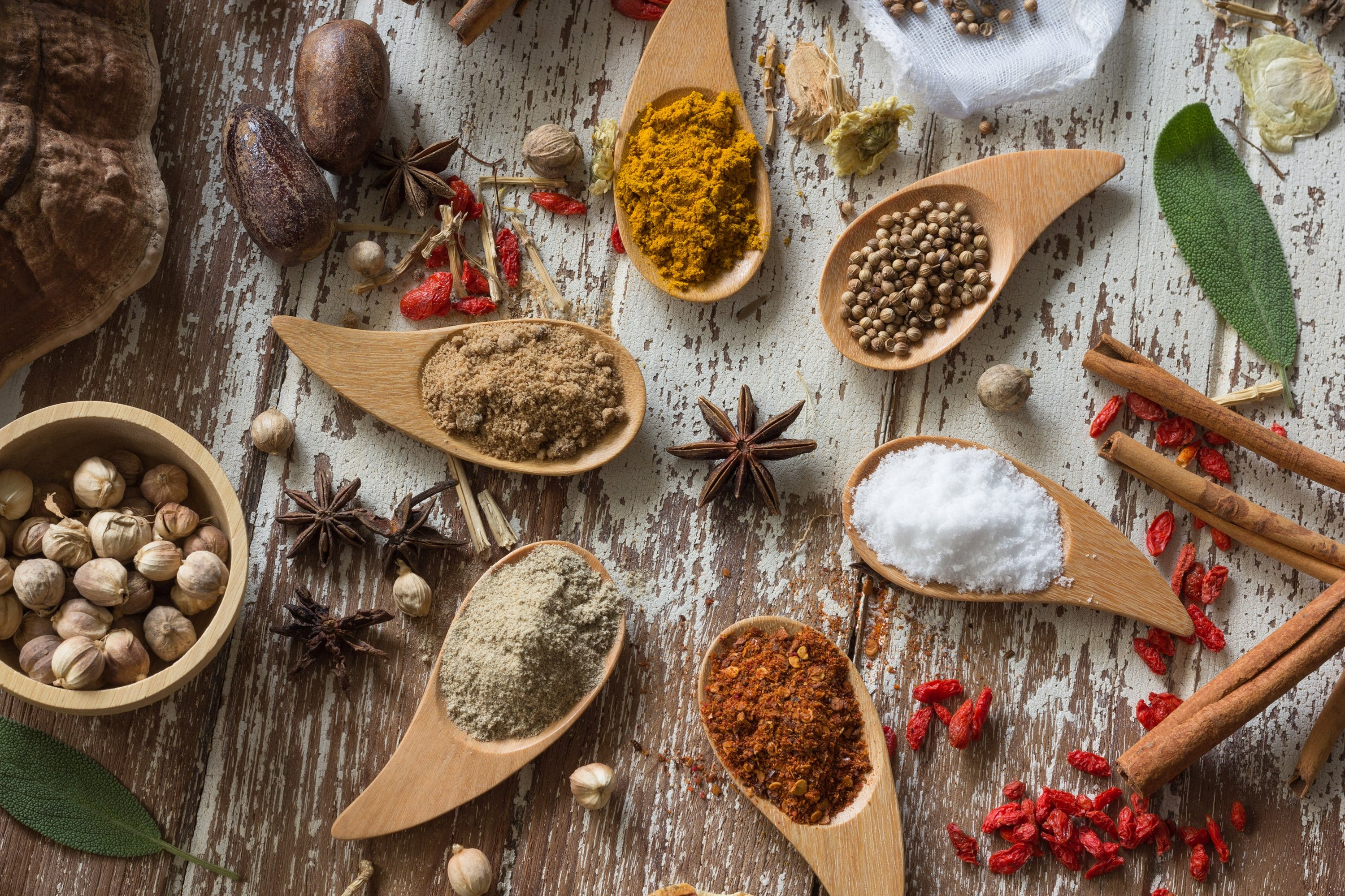 You will need spices such as nutmeg, cinnamon, cloves and many others to create an authentic taste. (Shutterstock Photo)