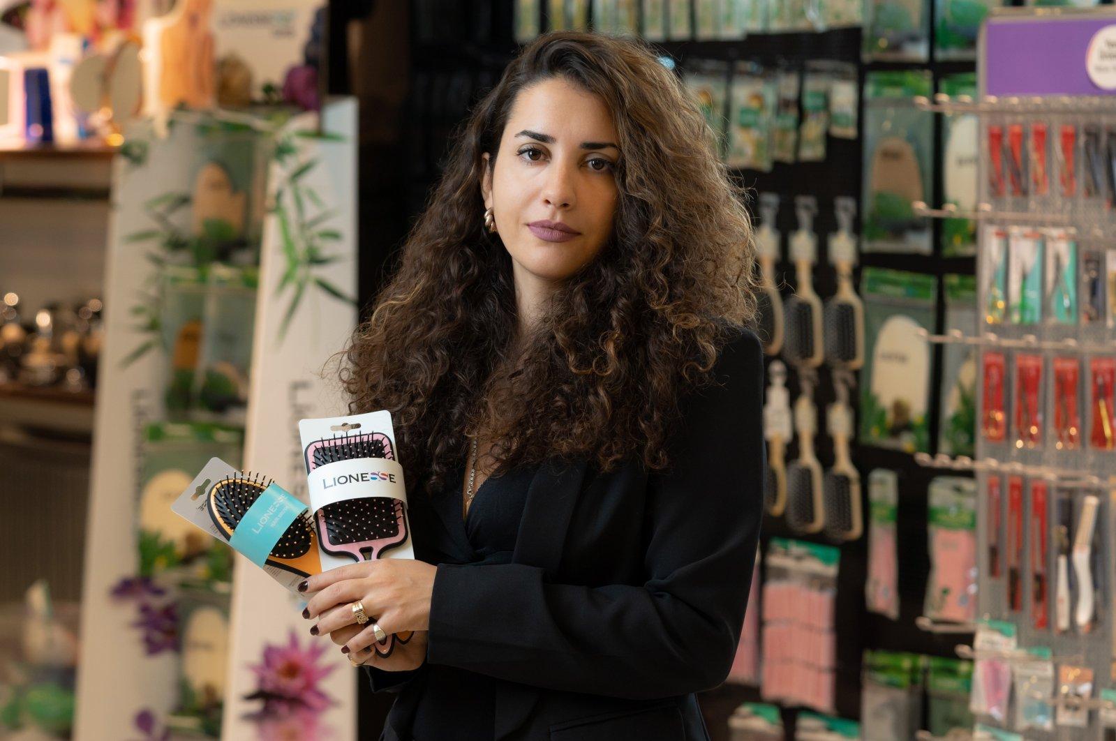 Lara Eram, a sales and business development manager at Tarko Kozmetik, one of Turkey's oldest cosmetics brands. (Courtesy of Tarko Kozmetik)