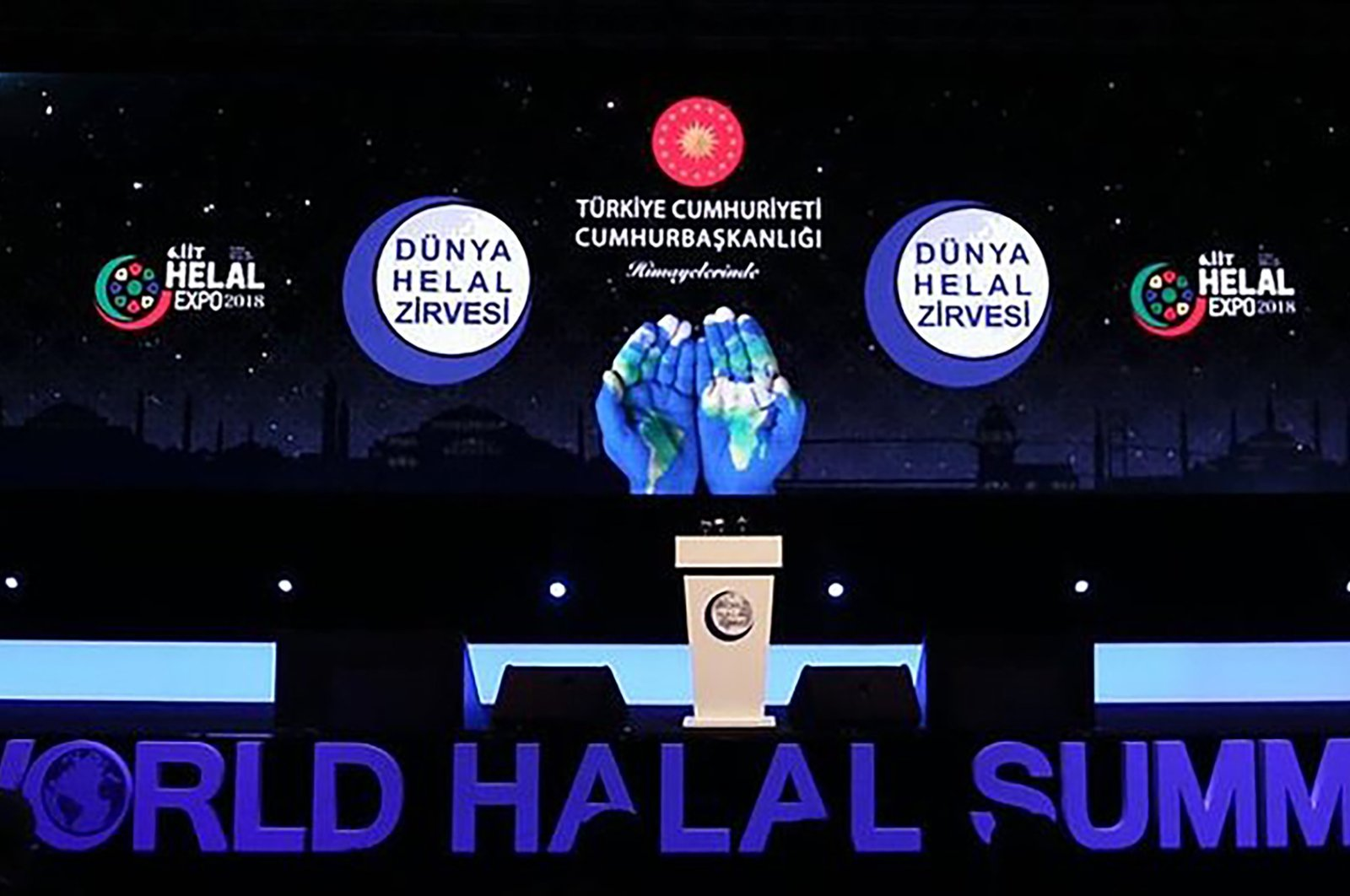 The World Halal Summit will run through Wednesday. (File Photo)