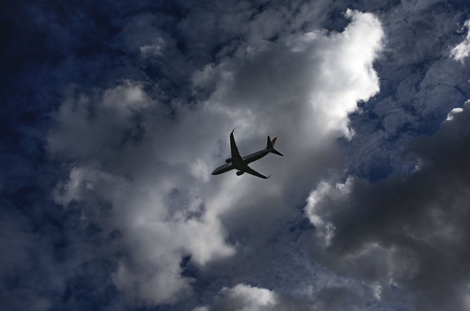 A passenger plane descends to land at Istanbul's Sabiha Gokcen Airport, in Istanbul, Friday, Feb. 7, 2020. (AP Photo)