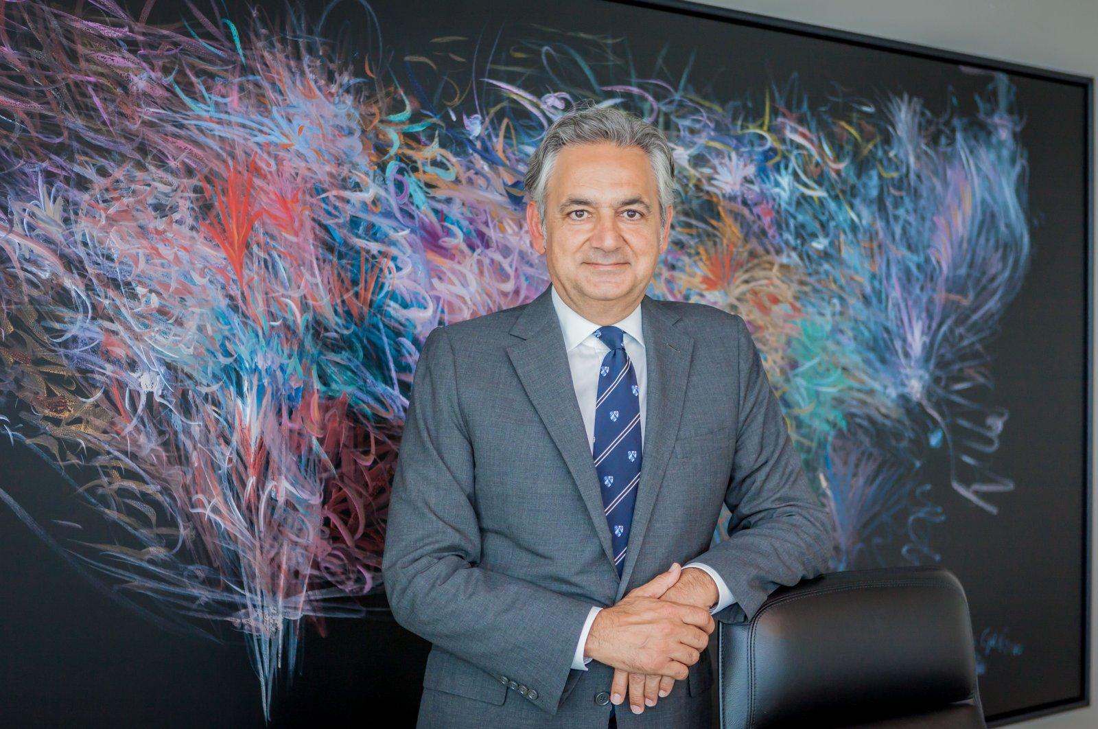 Turkey-U.S. Business Council (TAIK) Chairperson Mehmet Ali Yalçındağ. (Photo by Hatice Çınar)