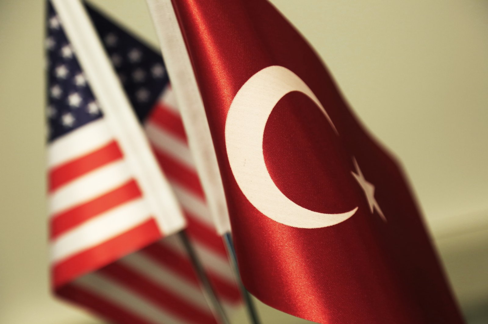 The flags of the United States and Turkey are pictured in an illustration, April 26, 2019. (iStock Photo)