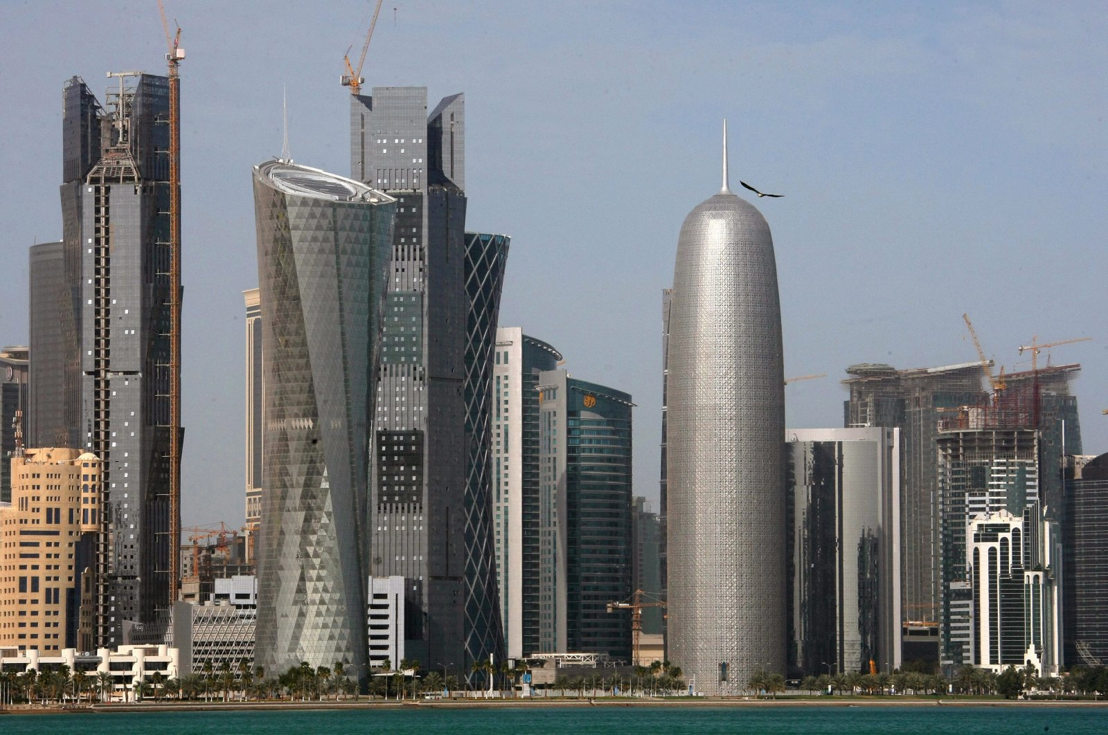 A file photo of the skyline of Doha, Qatar, dated Feb. 5, 2010. (EPA Photo)
