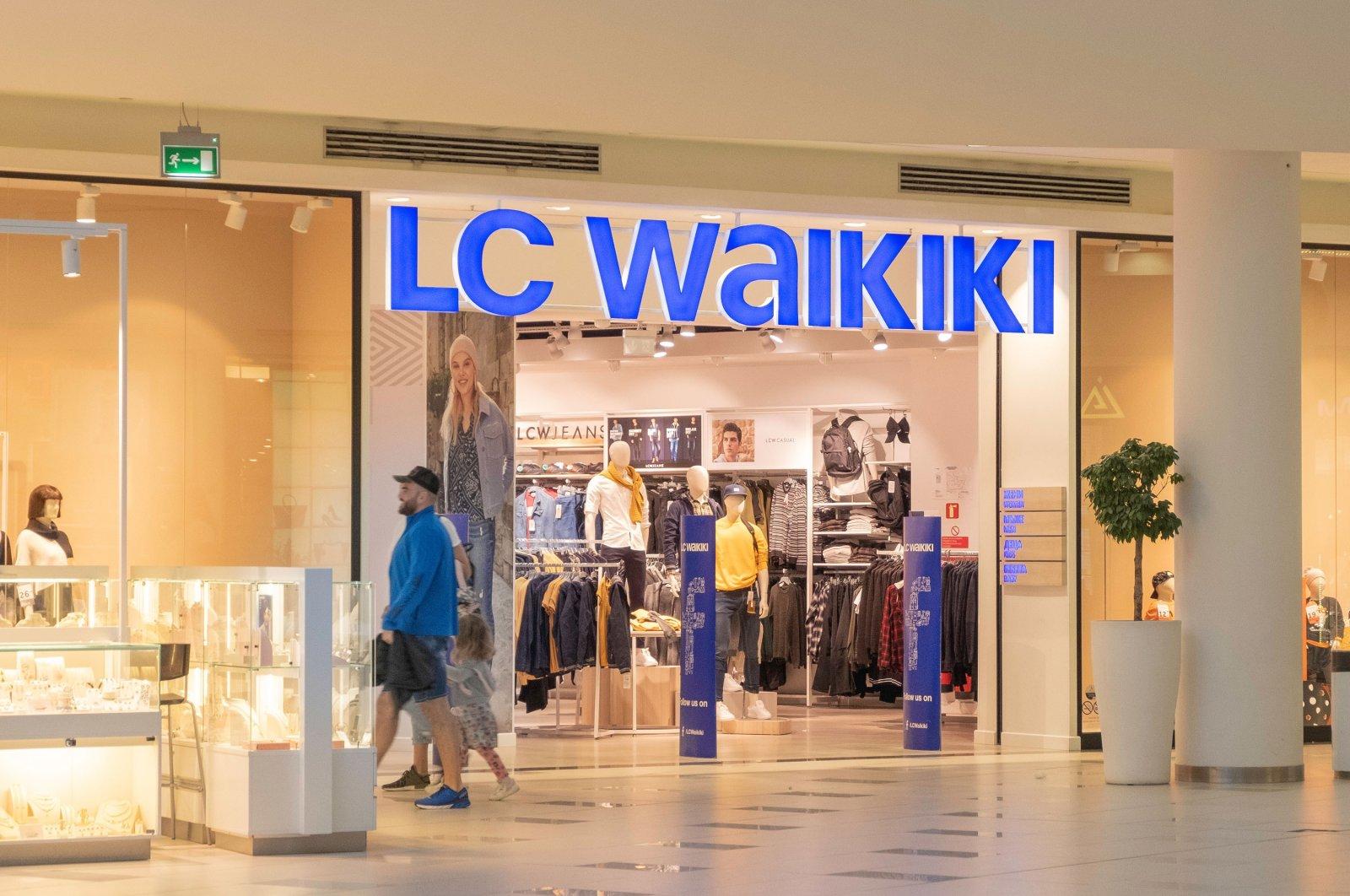 An LC Waikiki store in a mall, Sofia, Bulgaria, Oct. 20, 2019. (Shutterstock Photo by Elena Milenova)