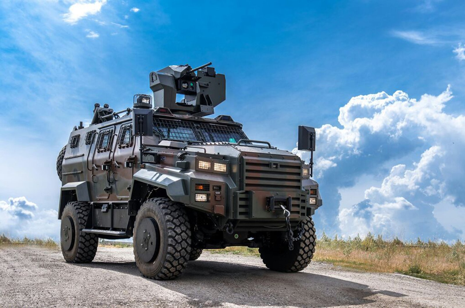 Nurol Makina's Ejder Yalçın armored vehicle, March 31, 2017. (Courtesy of Nurol Makina)