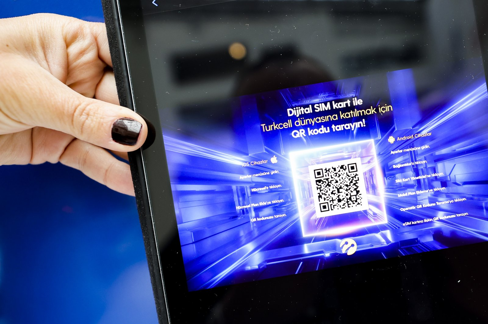 eSIMs will be installed remotely and used in all areas from home appliances to devices in workplaces. (AA Photo)