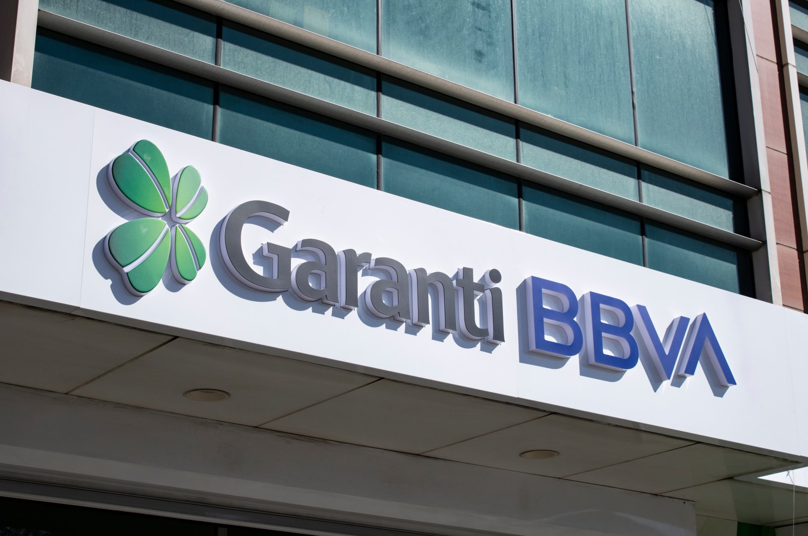 The headquarters of the Garanti BBVA in Beşiktaş, Istanbul, Turkey, Nov. 10, 2019. (Shutterstock Photo)