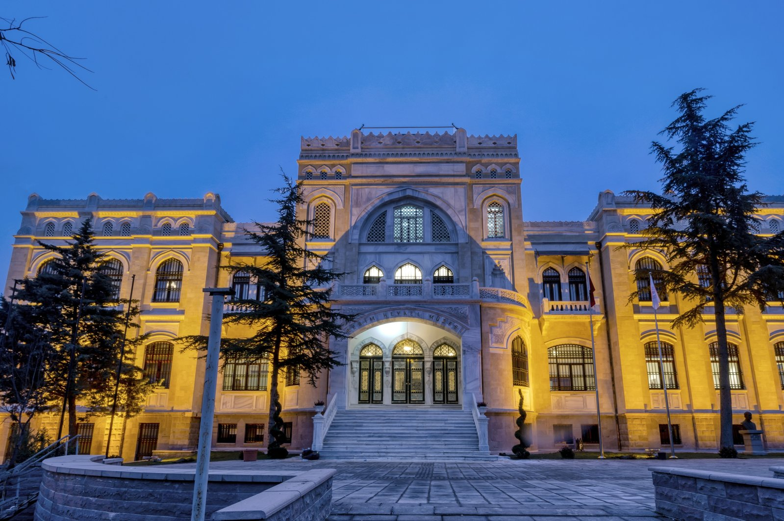 A general view from the Ankara State Art and Sculpture Museum in Turkish capital. (Courtesy of Ministry of Culture an Tourism)
