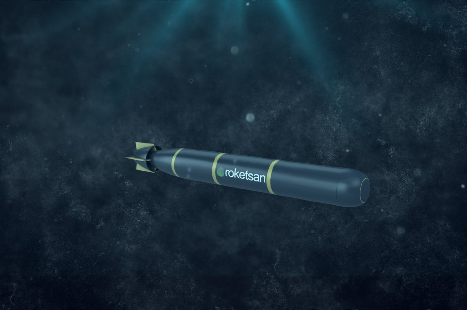 An artist's impression of the torpedo to be developed under Project Orka, Dec. 27, 2020. (Photo by SSB via AA)