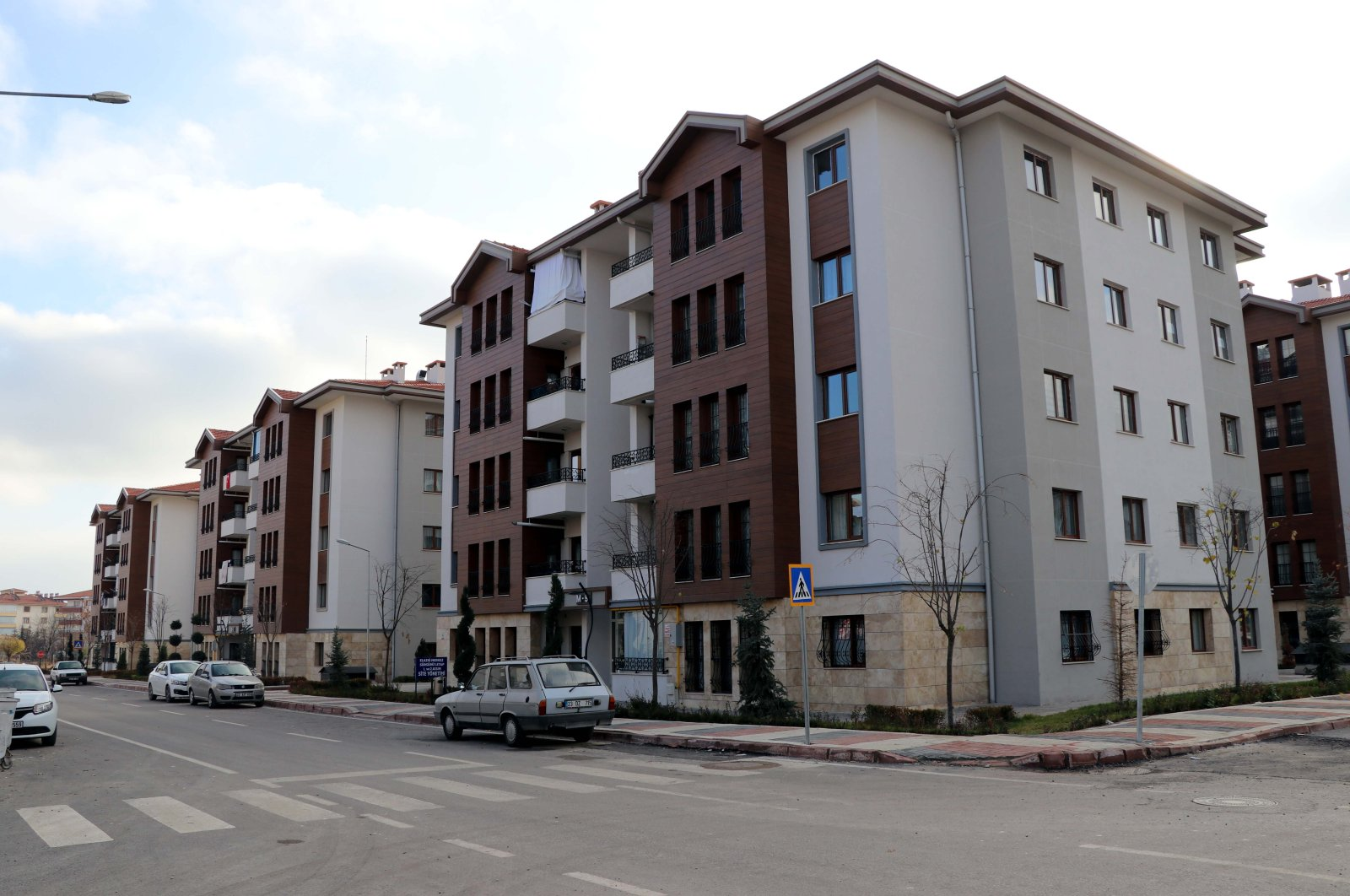 A view of newly built apartment buildings, in Elazığ, eastern Turkey, Dec. 29, 2020. (AA PHOTO)