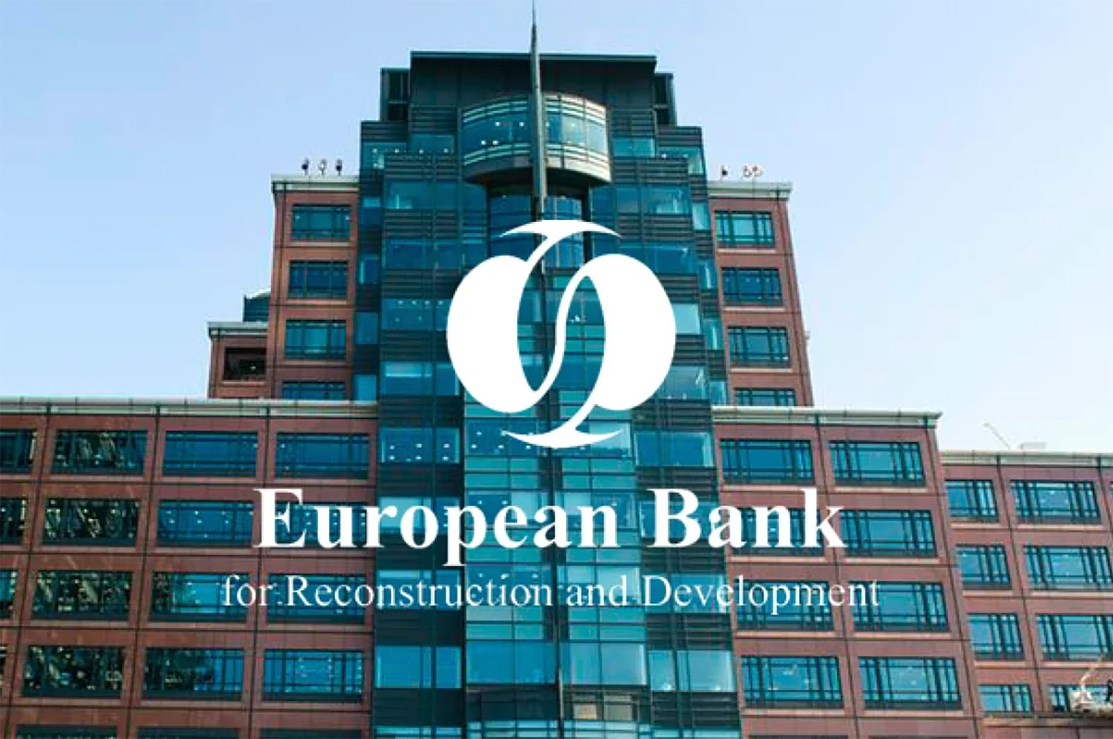The European Bank for Reconstruction and Development headquarters, London, the U.K., July 18, 2020. (Sabah File Photo)
