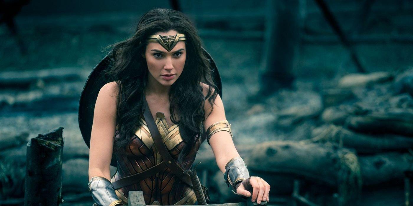 "Gal Gadot in a scene from 2017's ""Wonder Woman."""