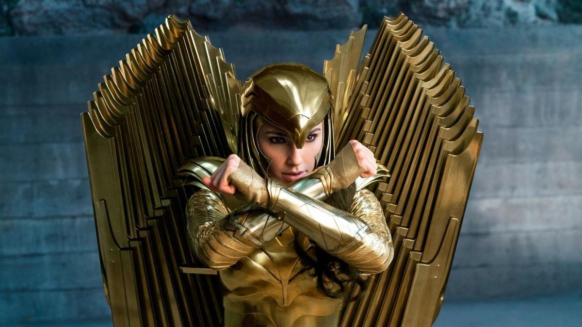 Gal Gadot as Wonder Woman in a scene from