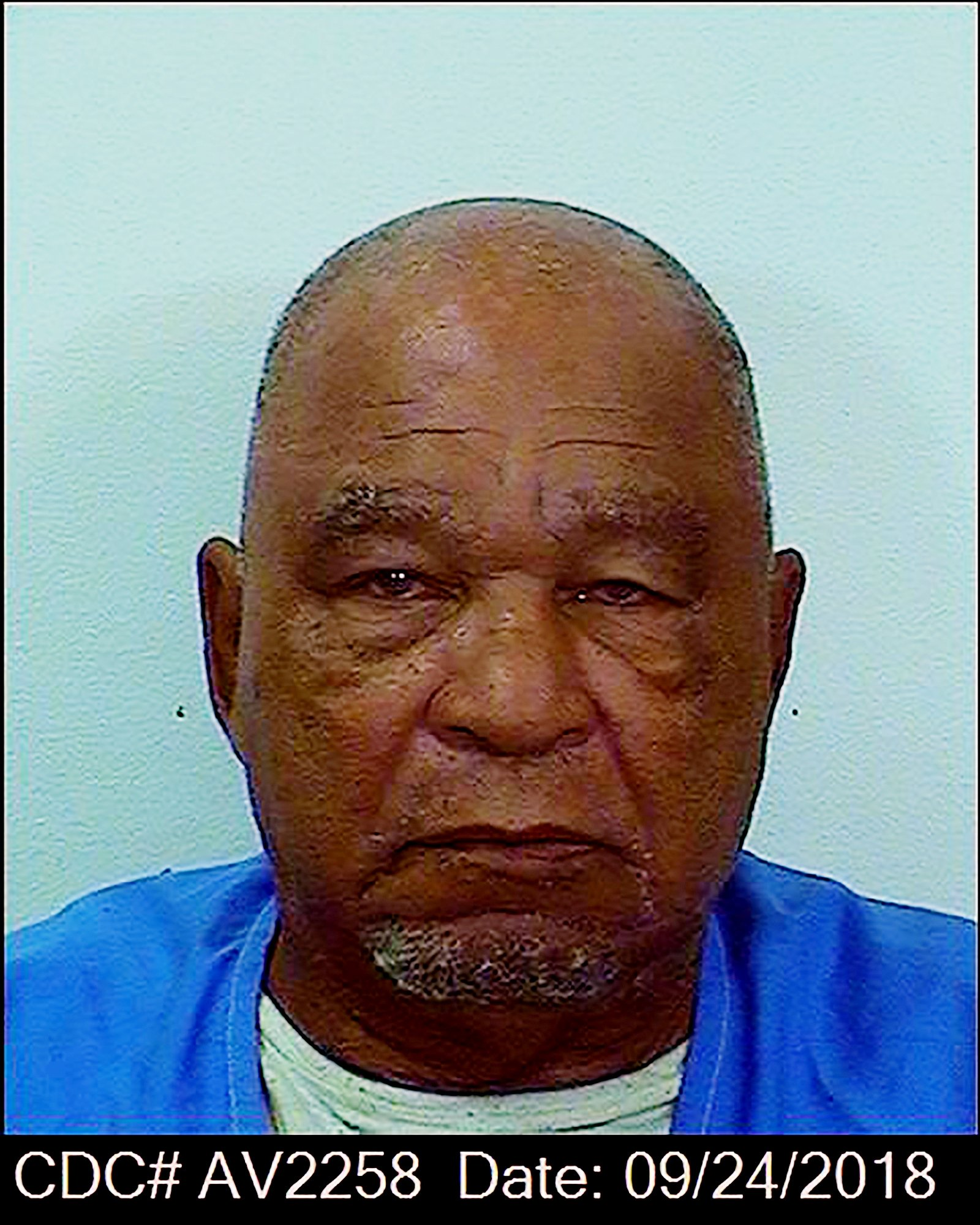 This booking photo provided by the California Department of Corrections shows Samuel Little, Sept. 24, 2018. (AP Photo)