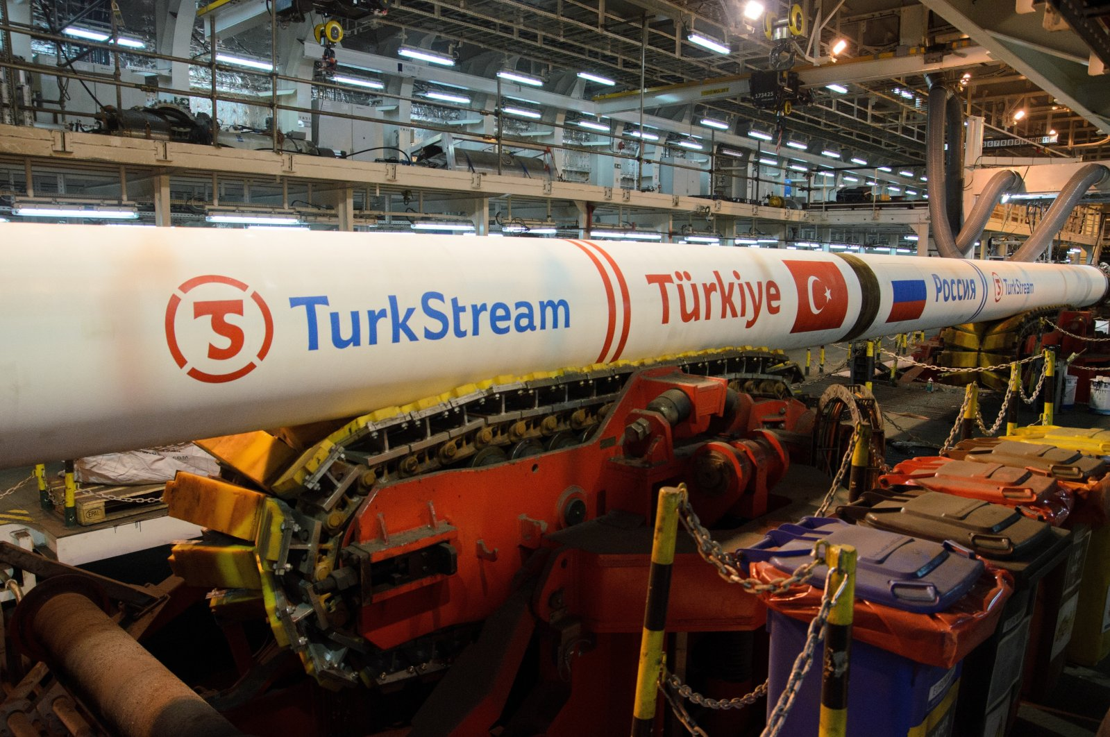 Commercial supplies via the TurkStream gas pipeline commenced in January 2020. (IHA Photo)