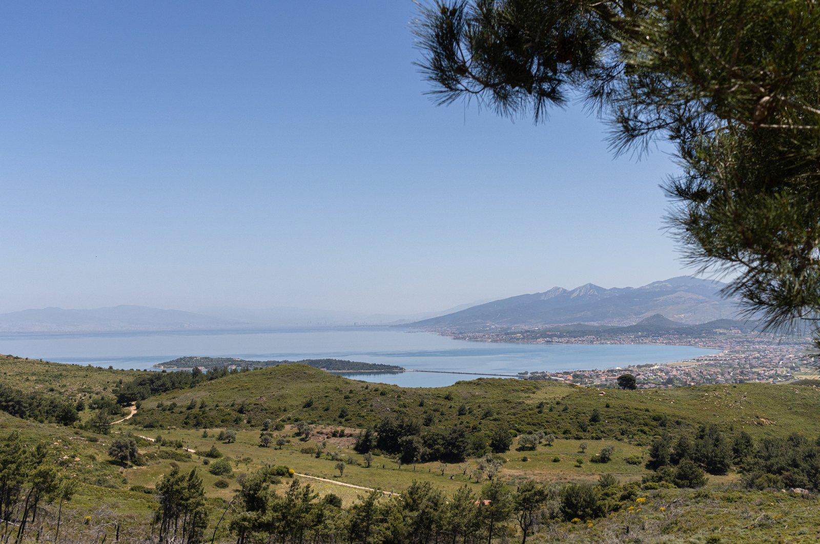 A general view of Urla in Izmir, western Turkey. (Shutterstock Photo)