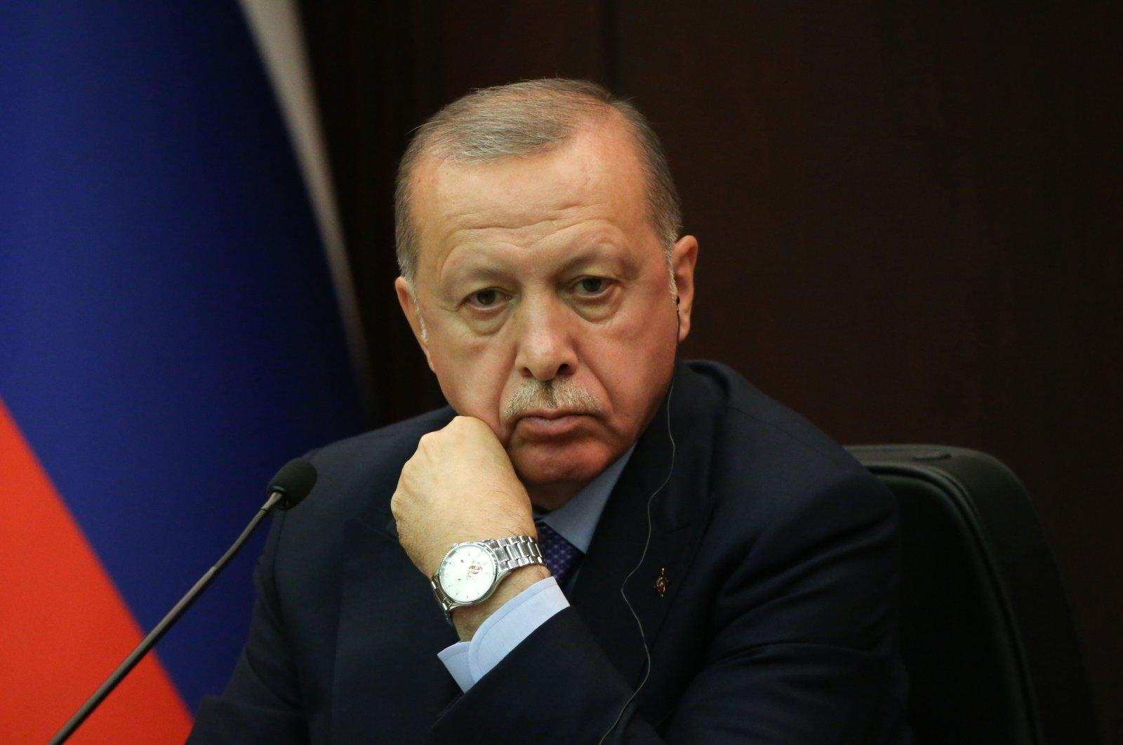 President Recep Tayyip Erdoğan during a meeting in Ankara, Turkey, Sept. 16, 2019. (Photo by Mikhail Svetlov/Getty Images)