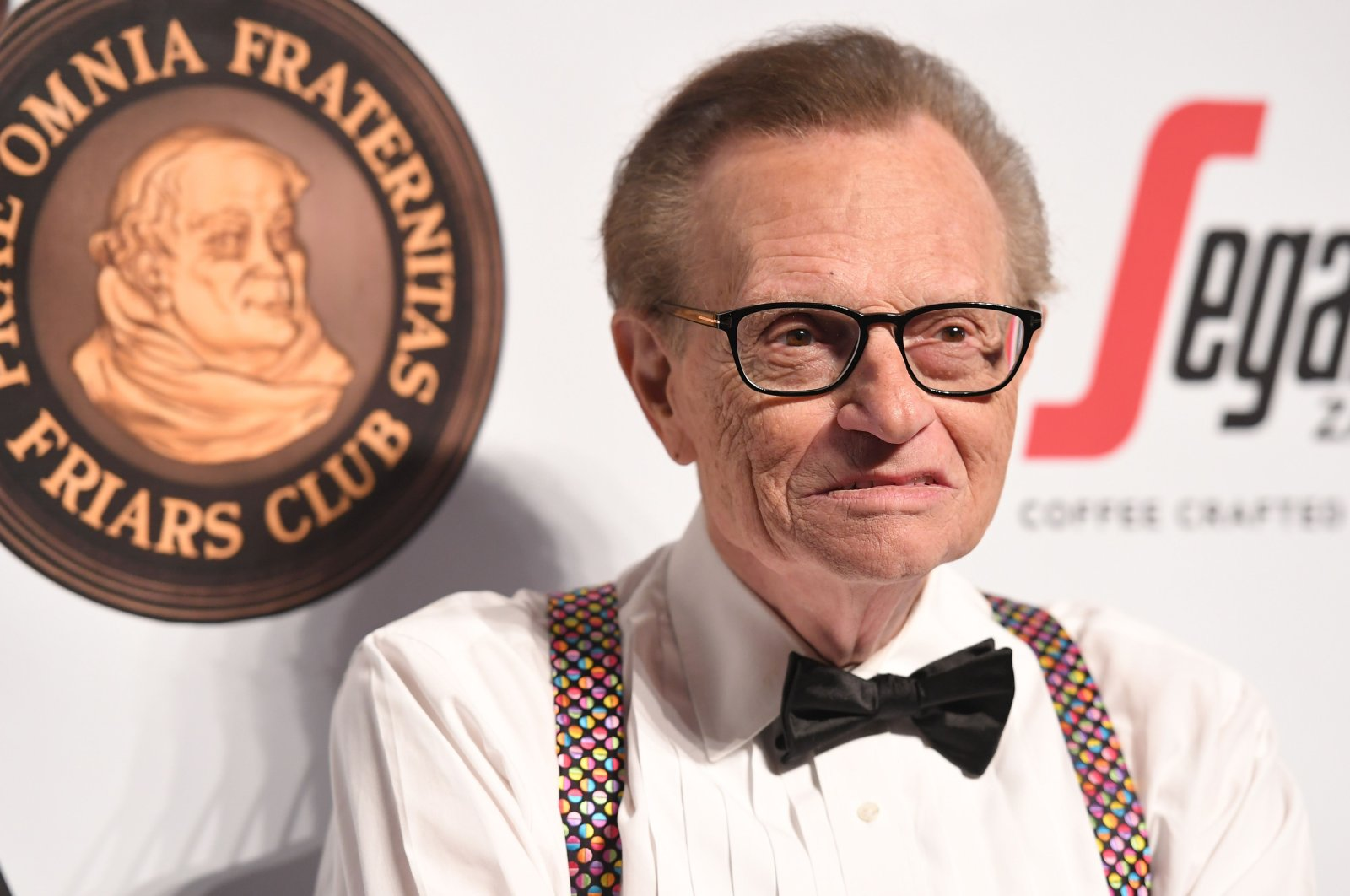 Larry King attends the Friars Club's honoring of Martin Scorsese at Cipriani Wall Street in New York City, U.S., Sept. 21, 2016 (AFP Photo)