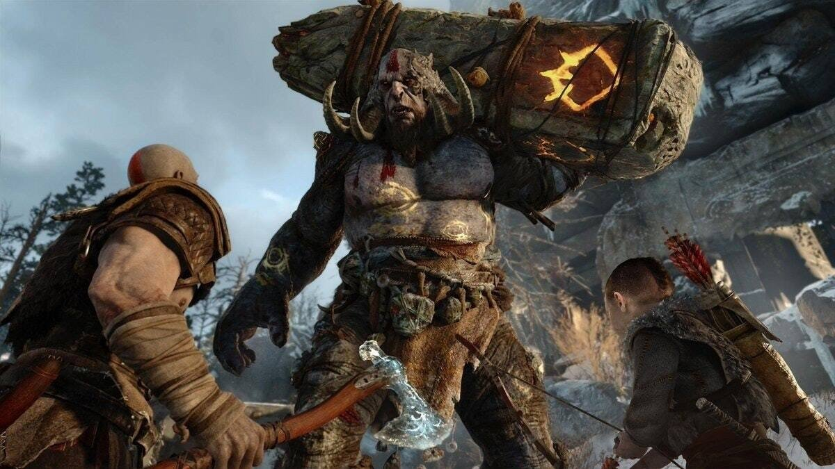 God of War. (Credit: Sony Pictures/ Sony Interactive Entertainment)