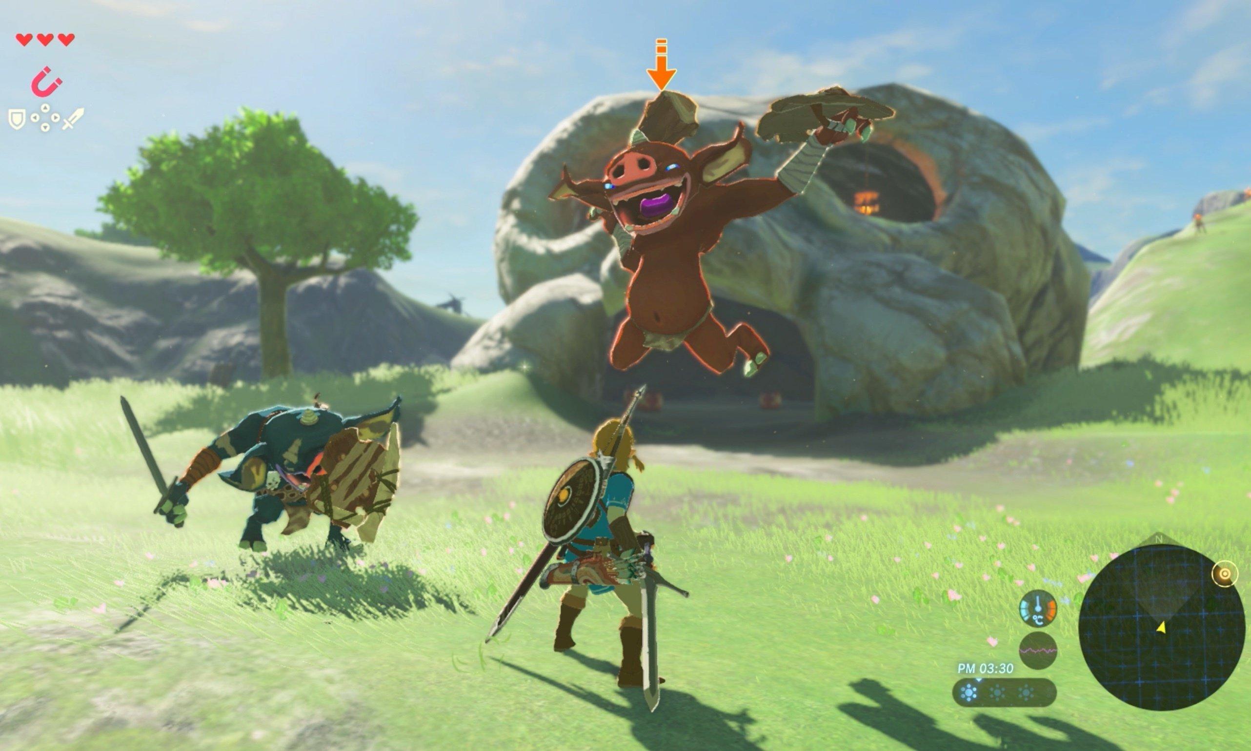 Legend of Zelda. (Credit: Nintendo)