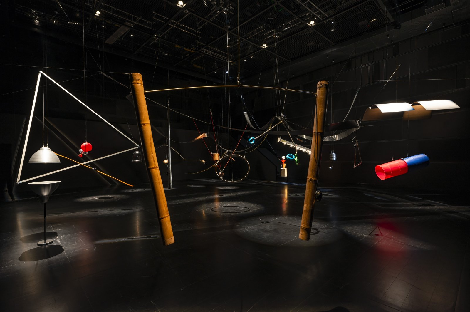 """A general view from """"Rainforest V (variation 3)"""" at Arter in Istanbul, Turkey. (Courtesy of Arter)"""