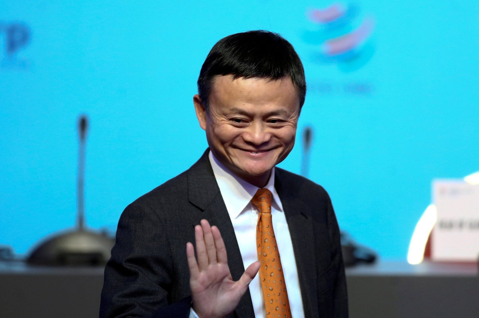 Alibaba Group Executive Chairman Jack Ma gestures as he attends the 11th World Trade Organization's ministerial conference in Buenos Aires, Argentina, Dec. 11, 2017. (Reuters Photo)