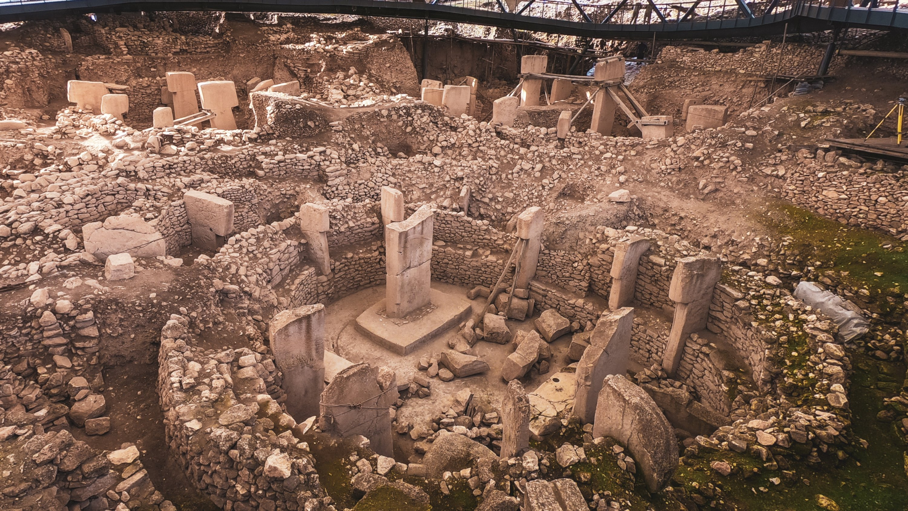 Photo shows a general view of Göbeklitepe. (Photo by Argun Konuk)