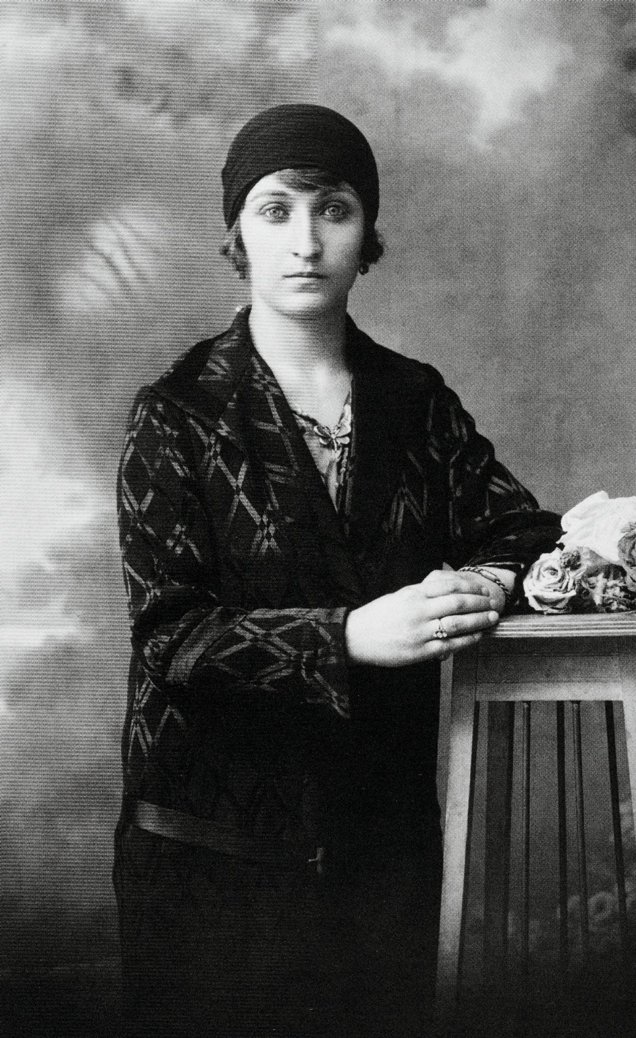 Sadberk Koç photographed at the end of the 1920s.