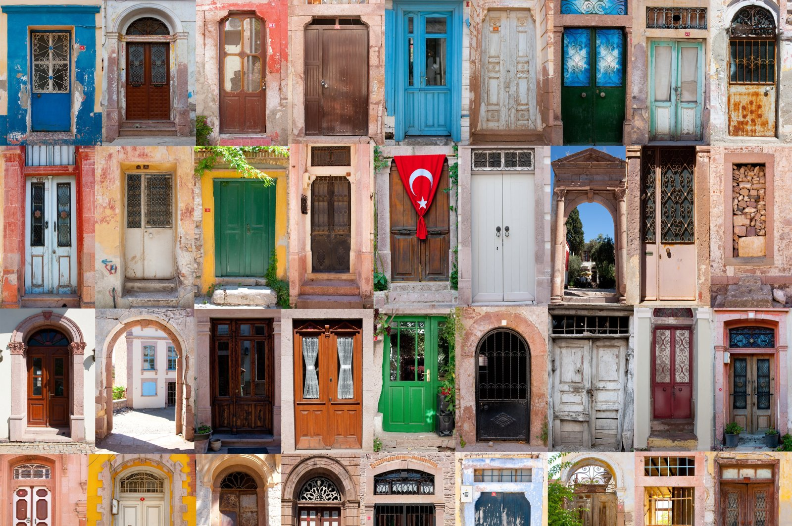 Although they may look different from the outside, many Turkish houses share common cultural items. (Shutterstock Photo)
