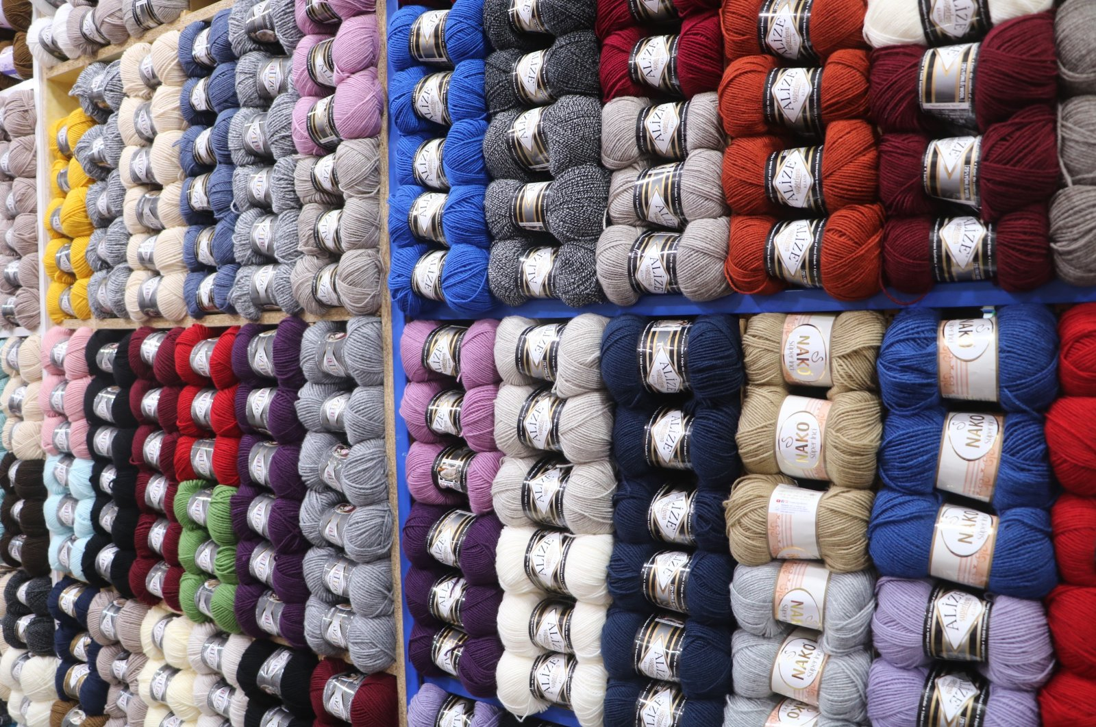Various new equipment and yarn types have been added to the shops as a result of the rise in popularity, Jan. 7, 2021. (IHA Photo)