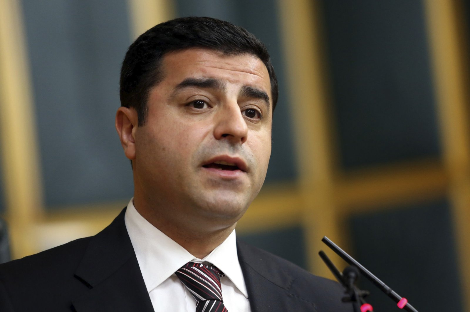 Former People's Democratic Party (HDP) co-Chair Selahattin Demirtaş.