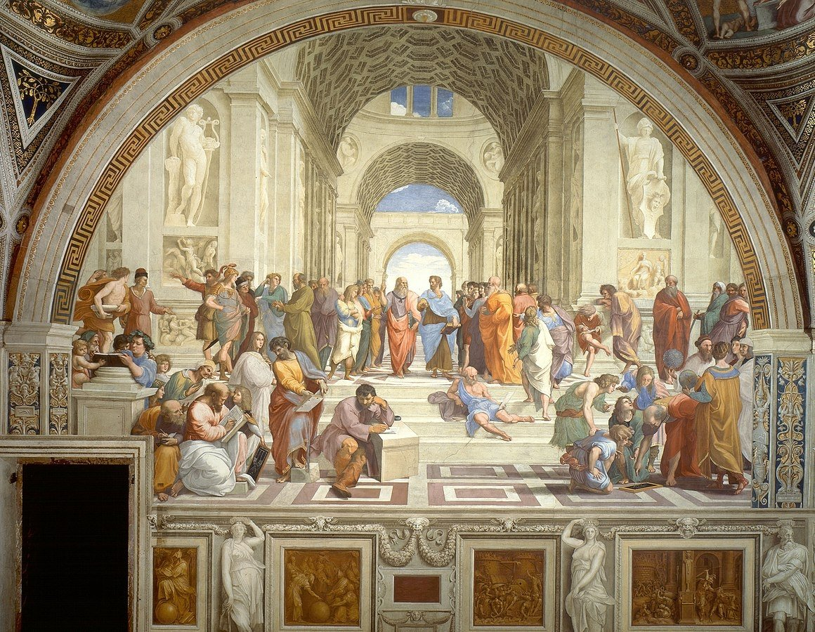 """In art history seminars, the participants will explore the historical development of arts through examples of renowned artists' works like """"The School of Athens"""" fresco by the Italian Renaissance artist Raphael."""