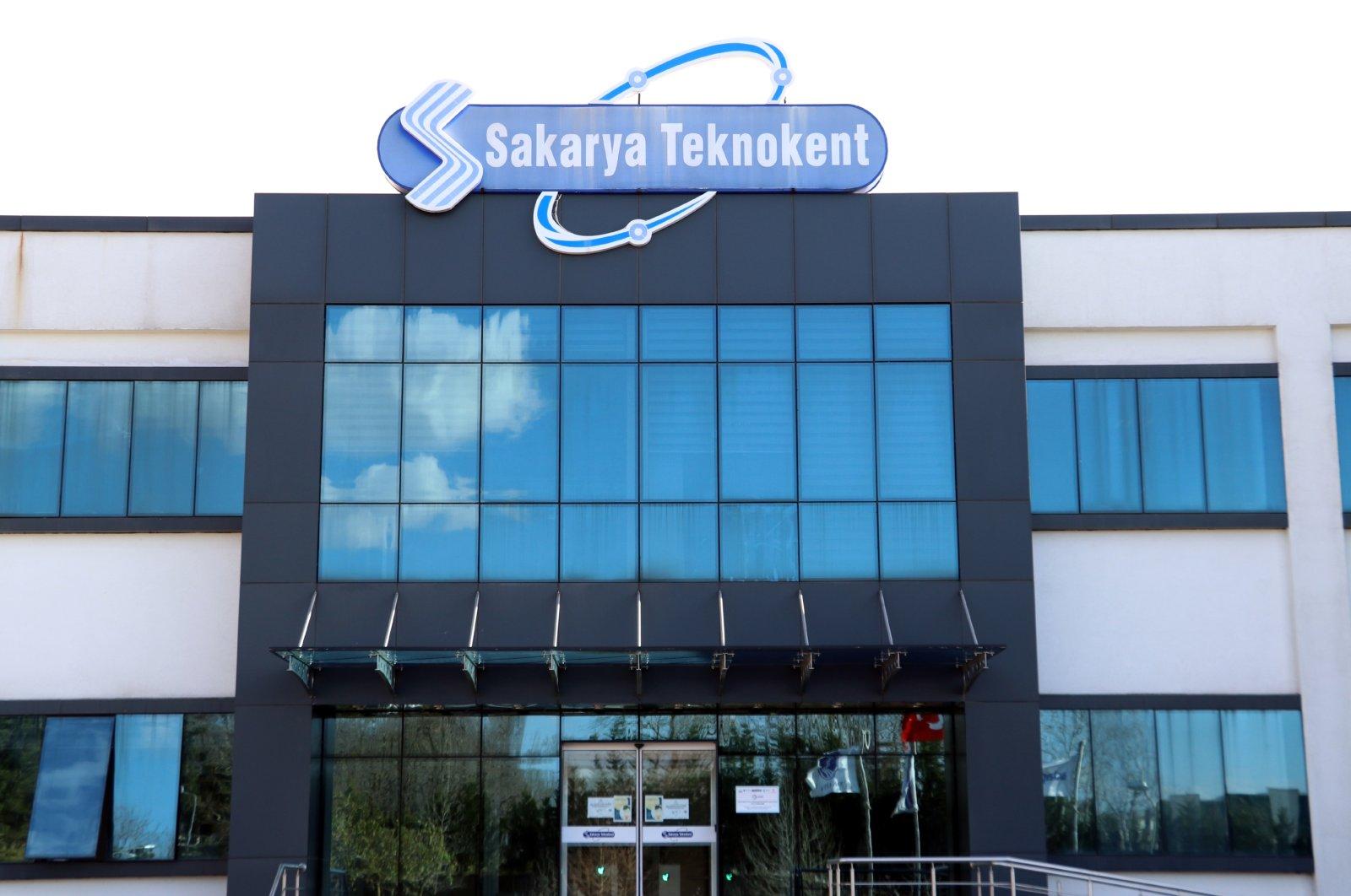 A general view of Sakarya Teknokent is seen in this file photo taken on Jan. 10, 2021. (AA Photo)