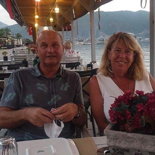 Denise and her husband Gary. (Photo courtesy of Denise Atkins)