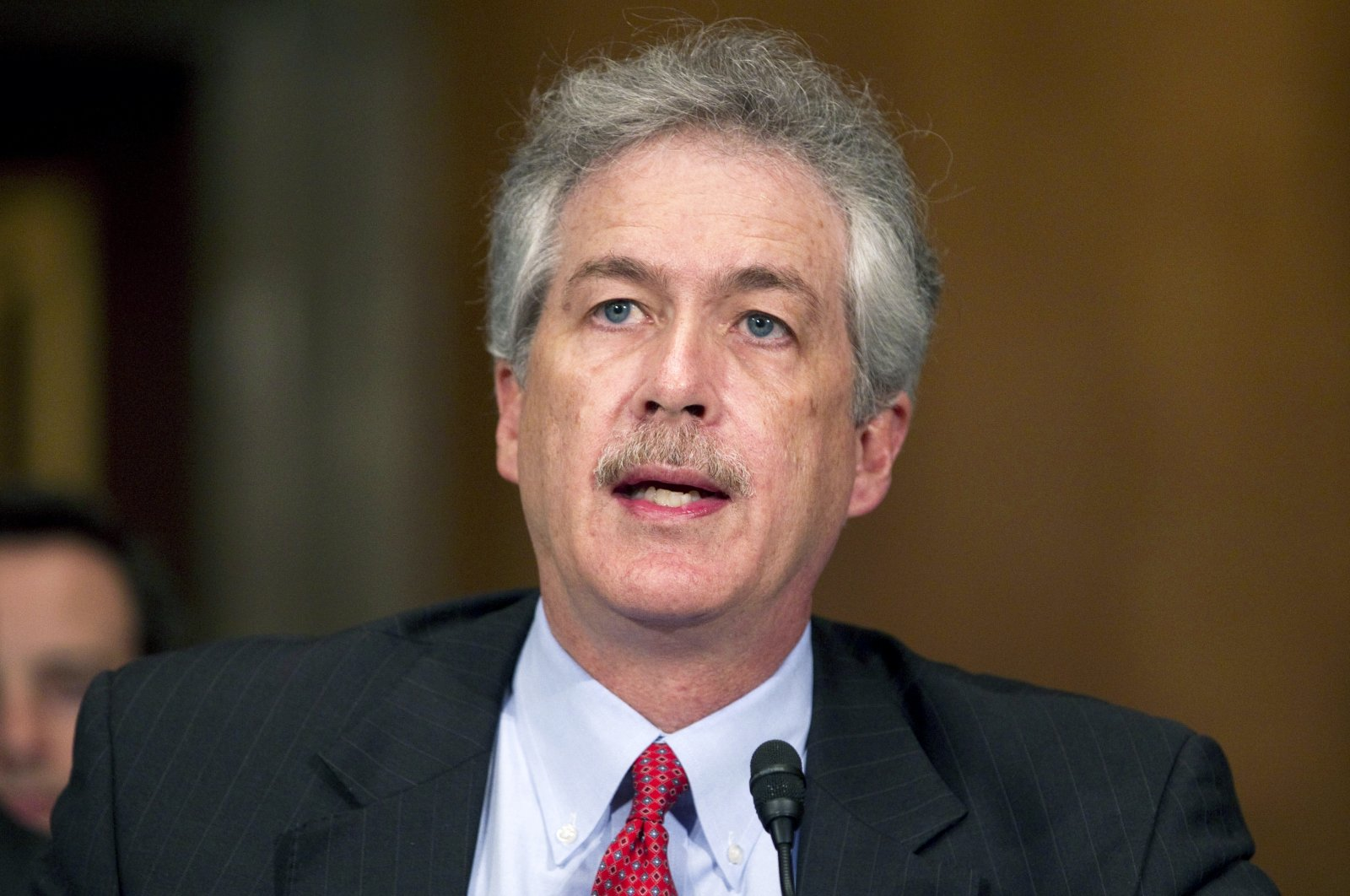William Burns testifies before the Senate Foreign Relations Committee hearing on his nomination to be deputy secretary of state, on Capitol Hill, Washington, D.C., May 24, 2011. (AP Photo)