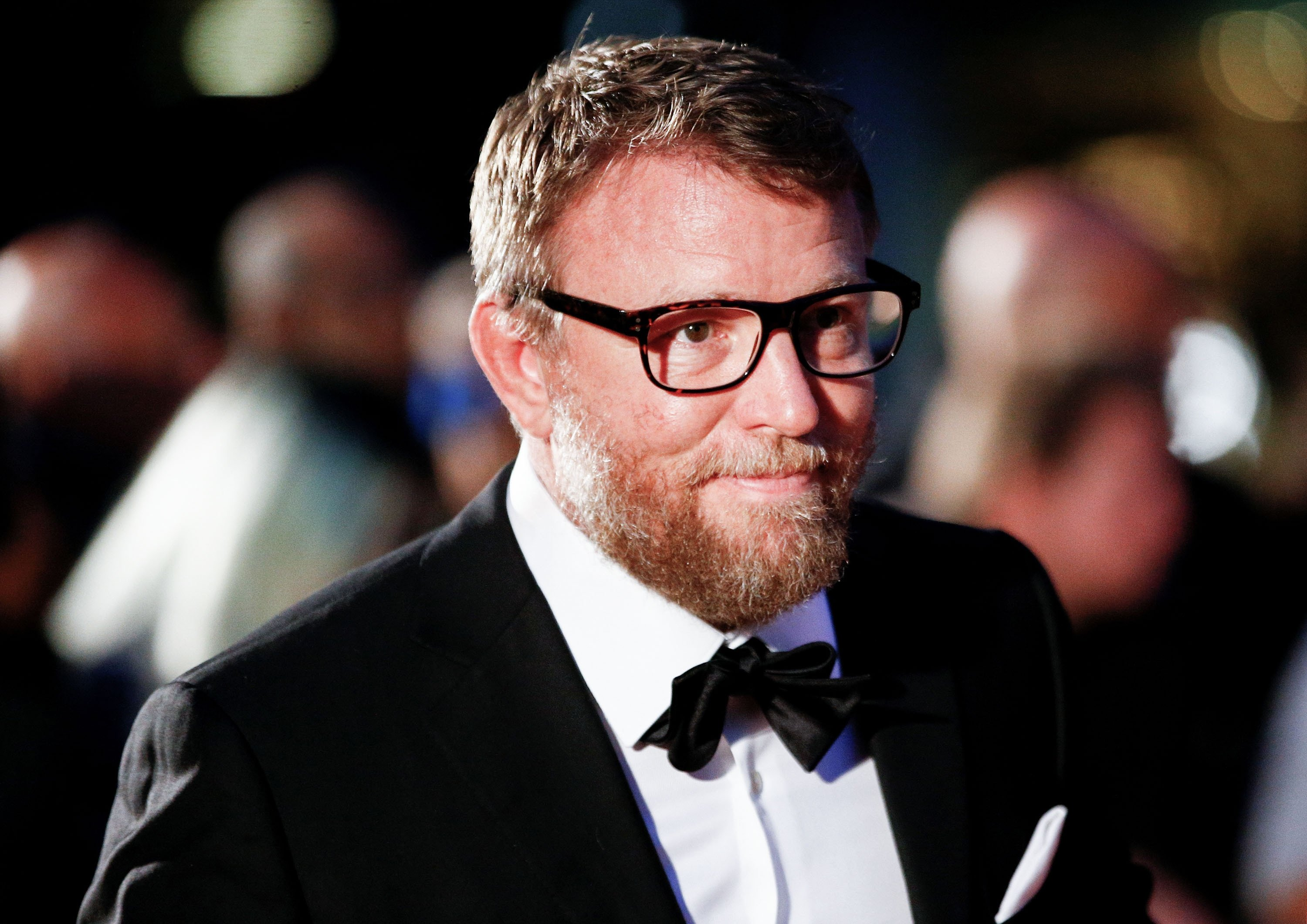 Director Guy Ritchie arrives to the GQ Men Of The Year Awards 2019 in London, Britain, Sept. 3, 2019. (REUTERS PHOTO)