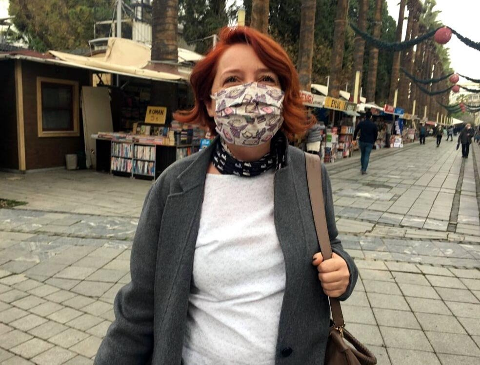 Meltem Akgül (pictured) says she will delete WhatsApp and turn to other alternatives. (DHA Photo)