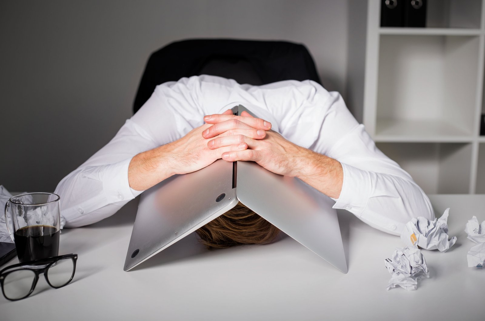 Technology can lead to frustration when it fails and as a result, cause higher stress levels. (Shutterstock Photo)