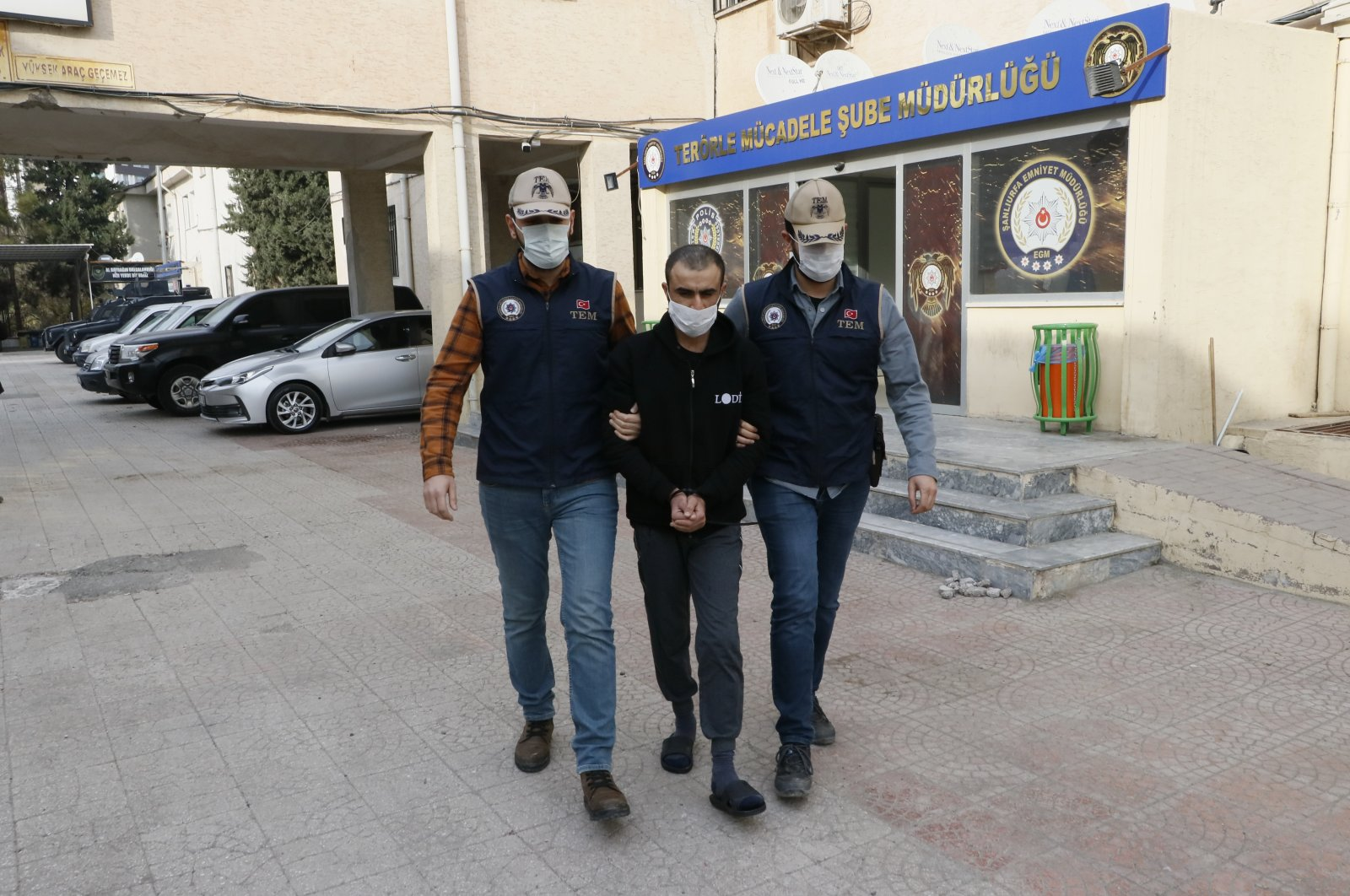 A Daesh terrorist accomplice in several terror attacks in Turkey was caught in Şanlıurfa province, southeastern Turkey, on Jan. 12, 2020. (AA Photo)
