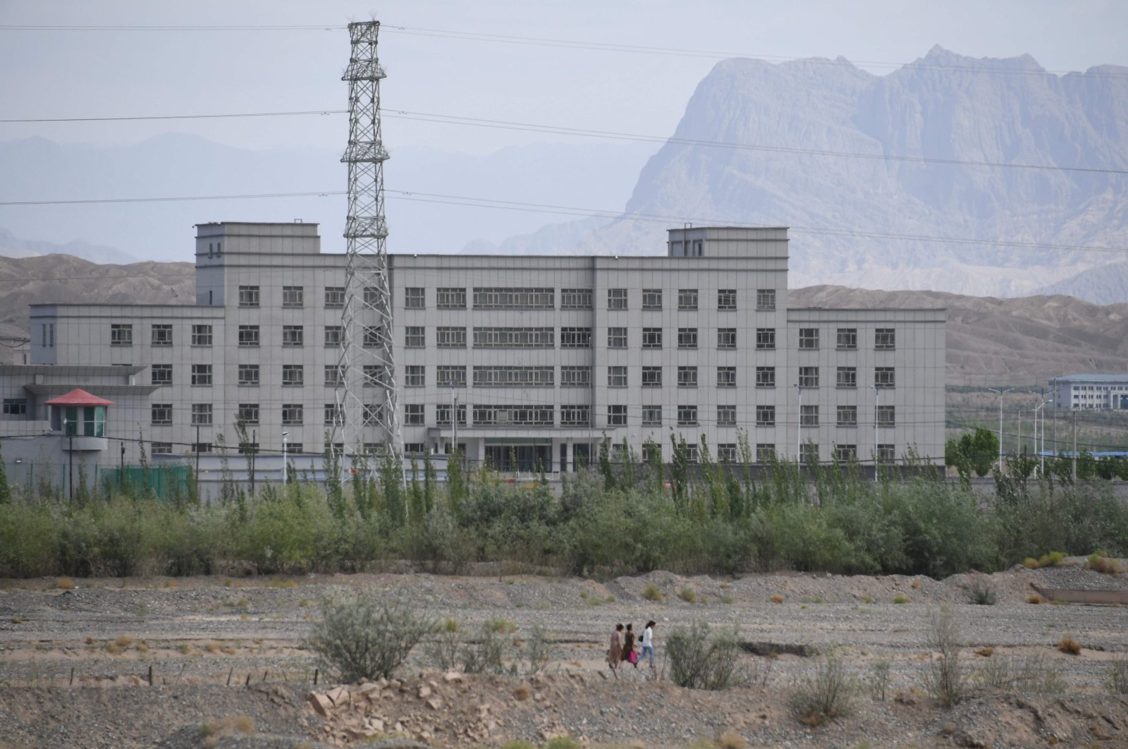 General view of a facility believed to be a re-education camp where mostly Muslim ethnic minorities are detained, in Artux, north of Kashgar, Xinjiang region, China, June 2, 2019. (AFP Photo)