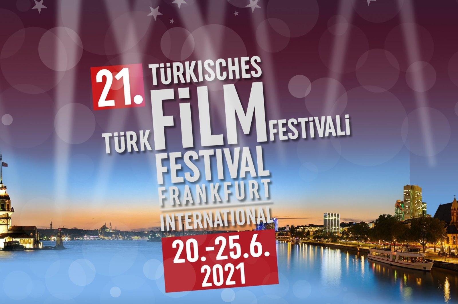 A poster of the 21st International Frankfurt Turkish Film Festival.
